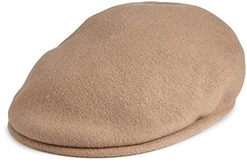 Kangol Men's Wool 504 Cap (Small -6 3/4-6 7/8, Camel) ()