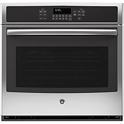 """GE JT5000SFSS 30"""" Stainless Steel Electric Single Wall Oven - Convection"""