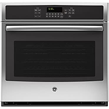 """GE JT5000SFSS 30"""" Stainless Steel Electric Single Wall Oven Convection"""