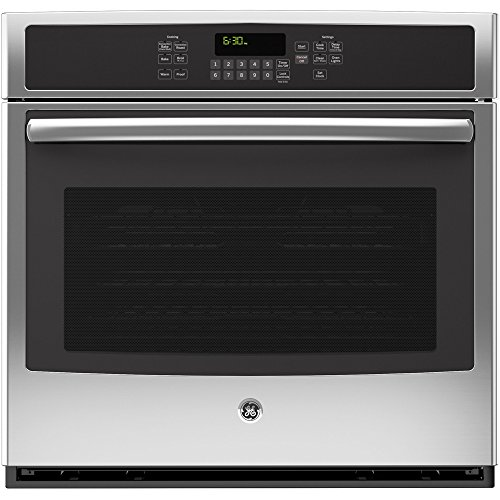 """GE JT5000SFSS 30"""" Stainless Steel Electric Single Wall Oven"""