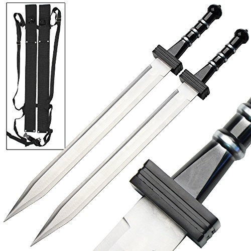 Gladiator Combat Deadly Twin Roman Sword Set