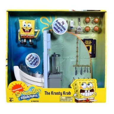 SpongeBob Squarepants Playset The Krusty Krab - Krusty Krab Hat