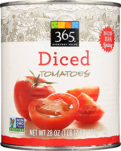 Price comparison product image 365 Everyday Value,  Diced Tomatoes,  28 Ounce