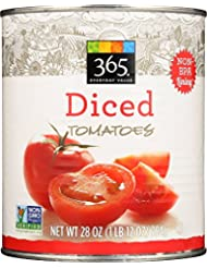 365 Everyday Value, Diced Tomatoes, 28 oz