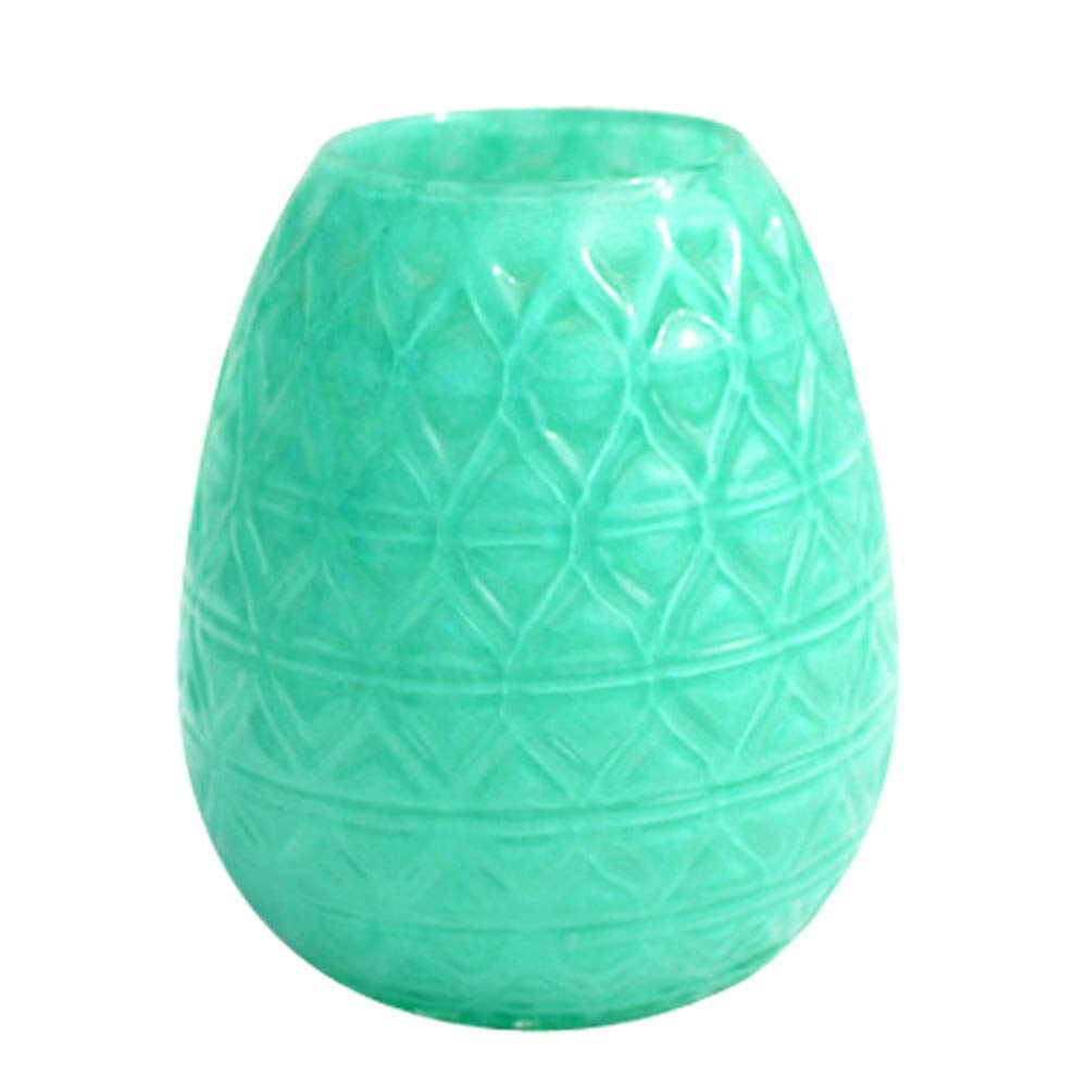 色ガラス花瓶用花緑植物結婚式の植木鉢装飾ホームオフィスデスク花瓶花バスケットフロア花瓶 (サイズ さいず : L l) B07QYF421F  L l