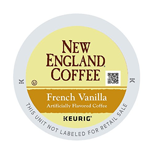 (New England Coffee French Vanilla, Single Serve Coffee K Cup Pods, Medium Roast, 12Count (pack of 6))