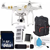 DJI Phantom 3 Professional Quadcopter with 4K Camera and 3-Axis Gimbal + DJI Intelligent Flight Battery for Phantom 3 + DJI Phantom Backpack 6AVE Bundle 8
