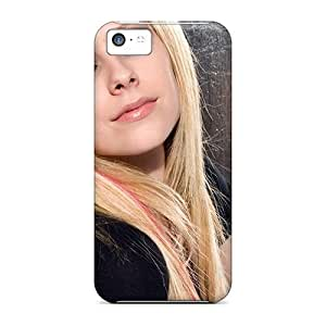 Iphone 5c Case Slim [ultra Fit] Celebrity Music Avril Lavigne Rocket Protective Case Cover