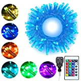 LED String Lights 20m 200 LEDs 16 Colors Changing Ollny Fairy String Lights for Bedroom Outdoor Party Garden Gazebo Christmas Decorations Lights Pl