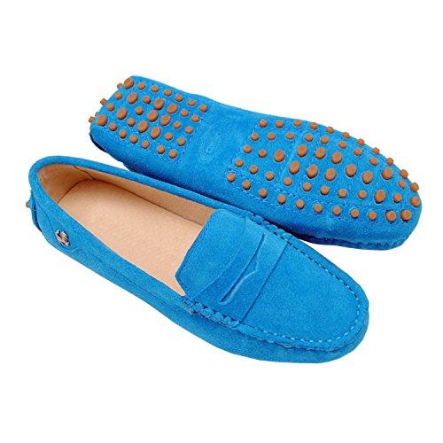 Minitoo , Bout fermé femme, Bleu - bleu, 36 EU