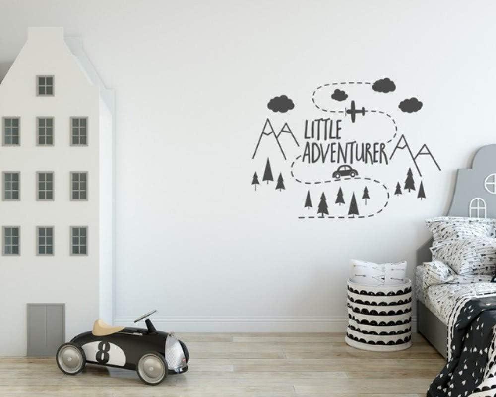 Nordic Safari Elephant Room Home Decor Removable DIY Wall Sticker Decal Mural AU