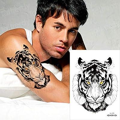 Handaxian 3pcsTatuaje y Arte Corporal Hombre Hombro Tatuaje Tribu ...