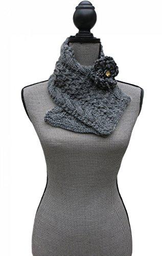 Custom Made Order - Handmade Knitted by Hand Alpaca Neckwarmer -