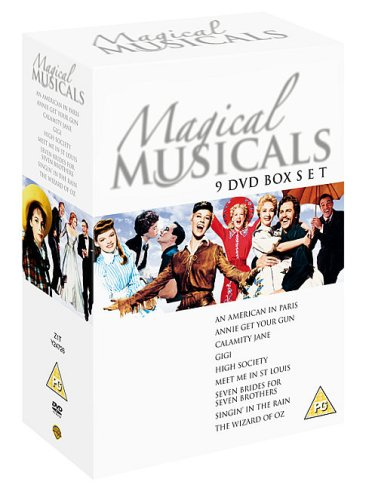 Magical Musicals Collection - (Annie Get Your Gun / Seven Brides For Seven Brothers / Singin In The Rain / Gigi / Wizard of Oz / Calamity Jane / High Society / Meet Me In St Louis / American In Paris) [Import anglais] (Gun Your Dvd Annie Get)