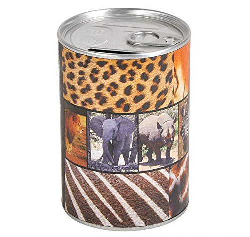 TIN CAN BANK SAFARI, Case of 144