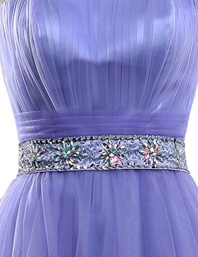 Homecoming Mint ASBridal Beaded with Hi Low Dresses Sash Dress Backless Strapless Prom wzqcxzrSZp