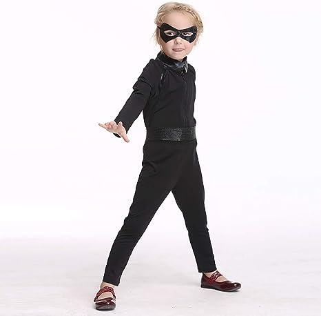 ROCK1ON Disfraz de Mujer Héroe Cómic Pelicula para Niños Disfraces ...