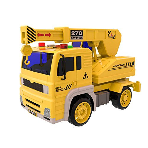 Crane Truck Toys Friction Powered product image