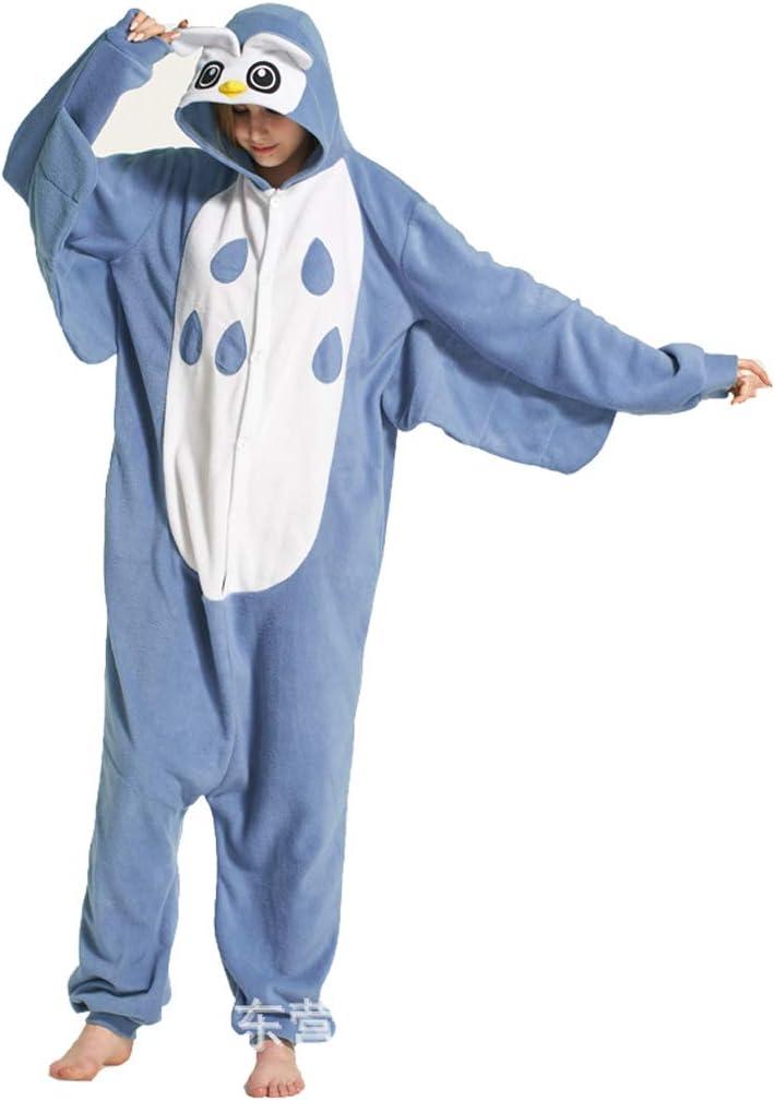 ZHHAOXINPA Pyjama Animal Adult Pyjama Cosplay Tier Onesie Body Nachtw/äsche Kleid Overall Sleepwear Erwachsene