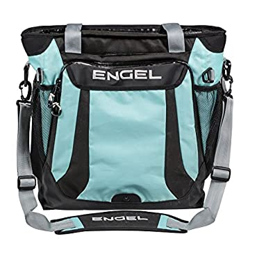 Engel High-Performance Backpack Ice Cooler, Seafoam Blue (ENGCB2-BLUE)