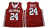 WEENKS Men's Buddy Hield 24 Oklahoma Sooners 2016 College Basketball Jersey M Red, Size: M, Color: Red, Size: M, Color: Red, Model: , Electronic Store