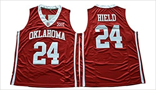 5791ed5adbf ... Amazon.com WEENKS Mens Buddy Hield 24 Oklahoma Sooners 2016 College Basketball  Jersey L Red Buddy Hield New Orleans Pelicans adidas ...