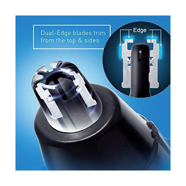 Panasonic Men's Ear and Nose Hair Trimmer, Wet Dry Hypoallergenic Dual Edge Blade - ER-GN30-H 3
