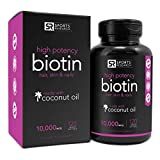 Biotin-10000mcg-in-Cold-Pressed-Organic-Coconut-Non-GMO-Gluten-Free-120-Mini-Veggie-Softgels