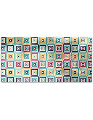 Box Illusion Rectangle Tablecloth Large Dining Room Kitchen Woven Polyester Custom Print
