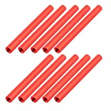 uxcell 10 Pcs M3 x 50mm Round Aluminum Column Alloy Standoff Spacer Stud Fastener for Quadcopter Red
