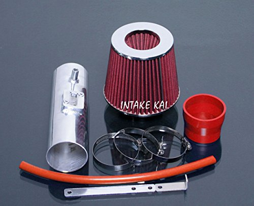 PERFORMANCE AIR INTAKE KIT + FILTER FOR 2008-2012 Honda Accord/Crosstour 3.5 3.5L V6 ENGINE (RED) Accord V6 Cold Air Intake