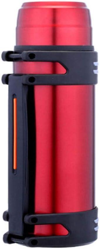 Guyuexuan2.0L Gran Capacidad de Viaje, Taza Personalizada de Regalo, Botella de Deportes al Aire Libre, Olla de Aislamiento de Acero Inoxidable 2L (Color : Red)