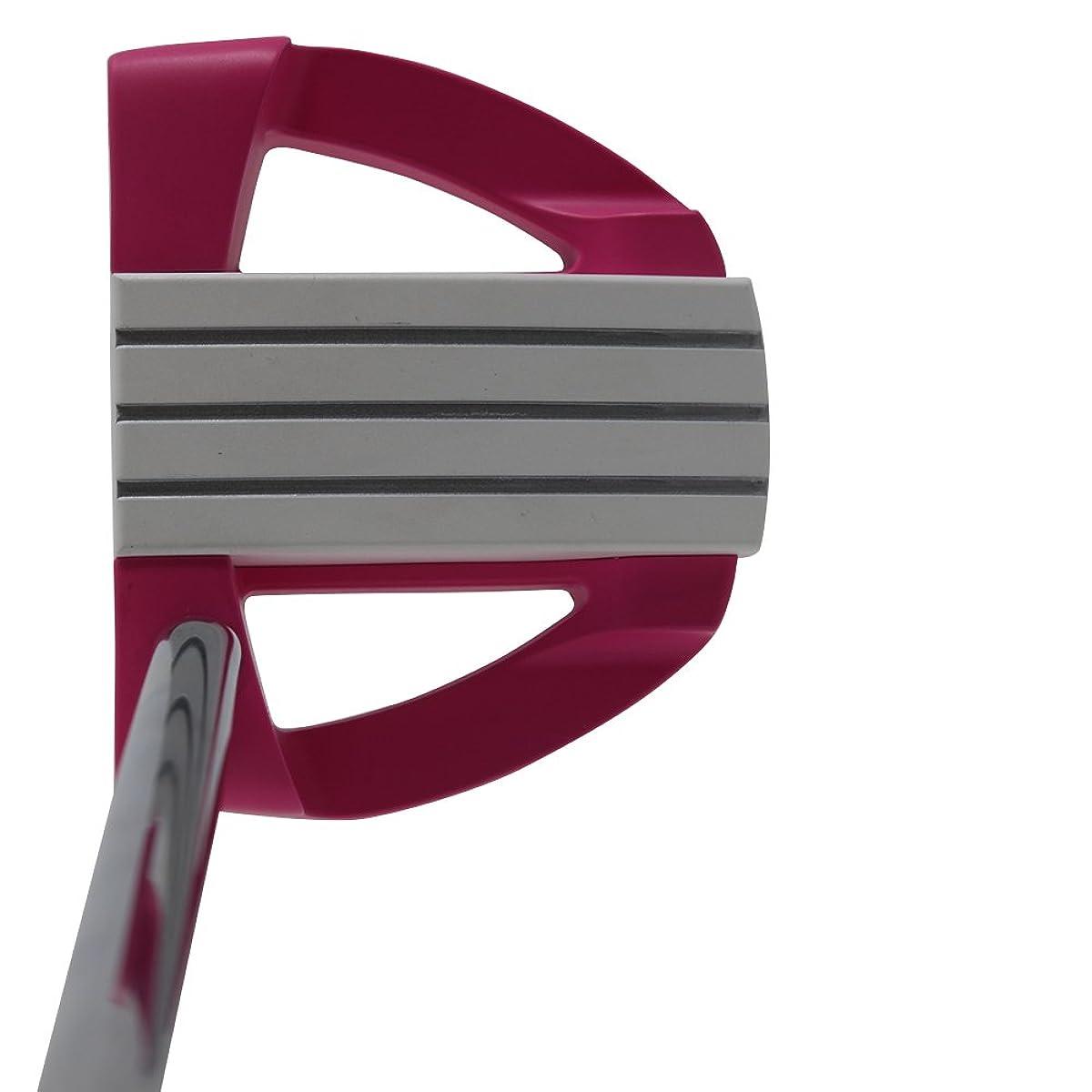 [해외] BIONIK 701핑크 골프 퍼터 오른손잡이MALLET스타일WITH선형LINE UP핸드 툴32인치 소병LADY 'S PERFECT FOR안감UP YOUR PUTTS