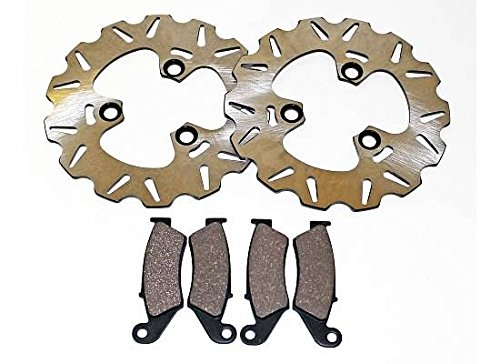 1988 1989 Honda TRX250R TRX 250R Fourtrax Front Brake Pads & Sport Brake Rotors