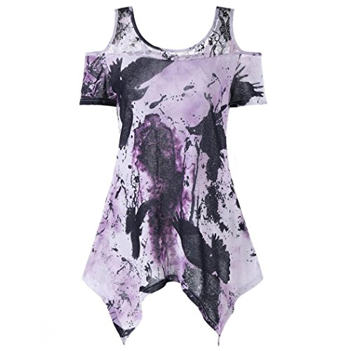 (UONQD Woman t Shirts Men Shirt Latest Stylish Nice Offer s tee Cheap Novelty websites Store Wholesale Retro Sites Personalized Blank Funky it a Funny(XXXX-Large,Purple))