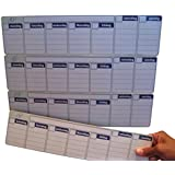 Dry-Erase Magnetic Calendar, 13.5w x 14h inches, 4-Weekly Sections, Light Green (Cal-1)