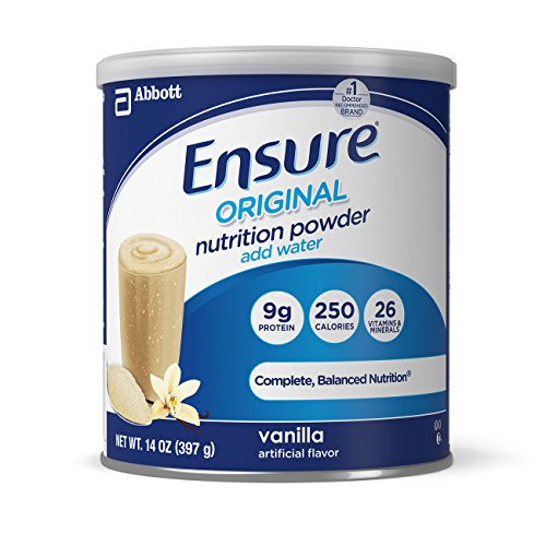 Ensure Original Nutrition Powder, Vanilla, 14-Ounce (7 Servings) (Ensure Plus Cans compare prices)