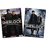 Sherlock: The Complete First and Second Seasons BBC DVD Collection (Season 1 & Season 2, 4-Disc Set) [Benedict Cumberbatch, M