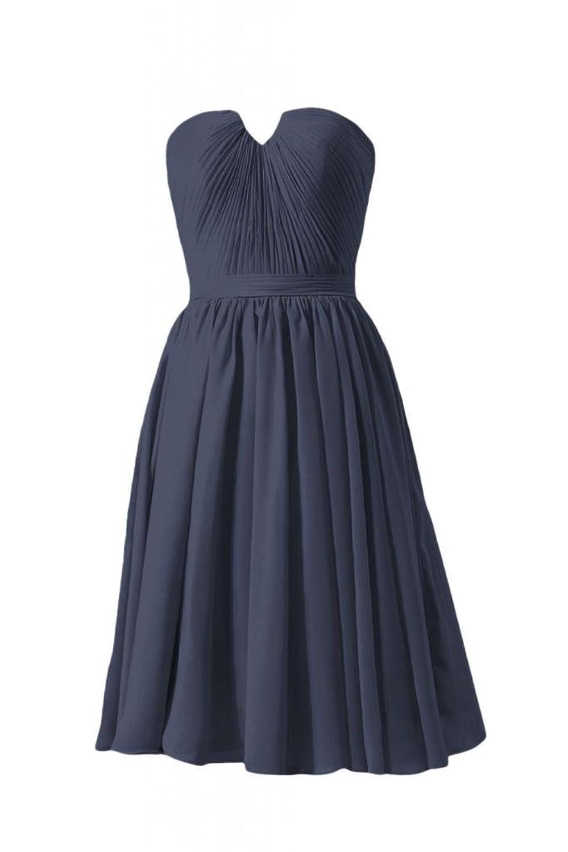 DaisyFormals Short Bridesmaid Dress V-Neckline Party Dress Prom Dress(BM10823S)