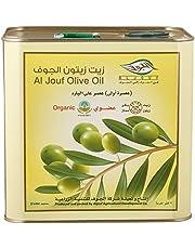 Aljouf Organic Extra Virgin Olive Oil, 2 Liter - Pack of 1