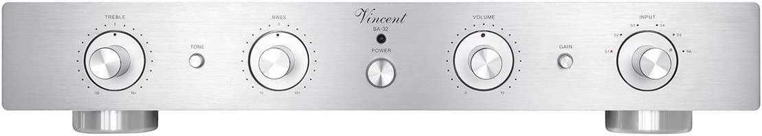 Vincent Audio SA 32 Hybrid Stereo Preamplifier Silver