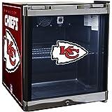 Glaros Officially Licensed NFL Beverage Center / Refrigerator - Kansas City Chiefs
