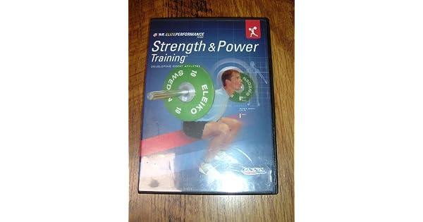 Amazon com: Strength & Power Training (USSA Elite Performance Series