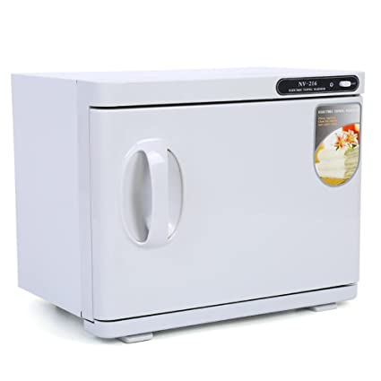 2 en 1 Esterilizador estetica 8L Calentador de Toallas UV Esterilizador Gabinete de Belleza Salon Spa