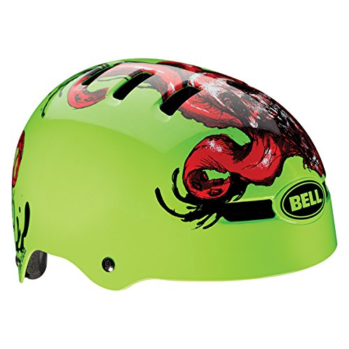 Bell Helm Faction Kinder grün Glow Green Tentaskull L