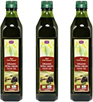 チブギス オーガニック エキストラバージン オリーブオイル【大容量=全部で3リットル】1,000ml ペットボトル X 3本【有機JAS認定・EUオーガニック】CIVGIS Organic Extra Virgin Olive Oil...