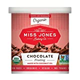 organic chocolate baking - Miss Jones Baking Organic Frosting, Chocolate (Pack of 3)