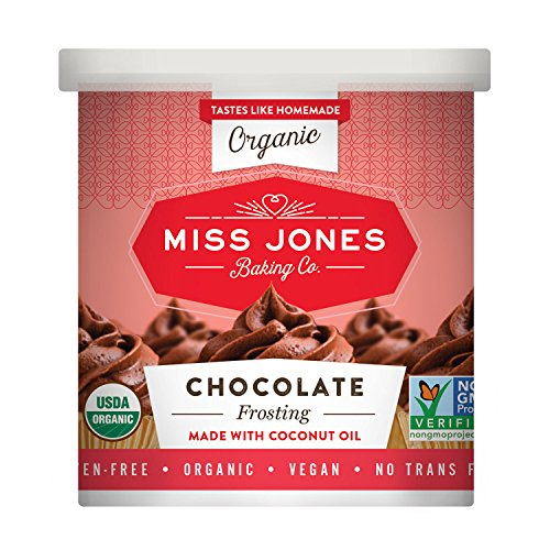 Chocolate Butter Icing (Miss Jones Baking Organic Chocolate Buttercream Frosting, 11.29 oz)