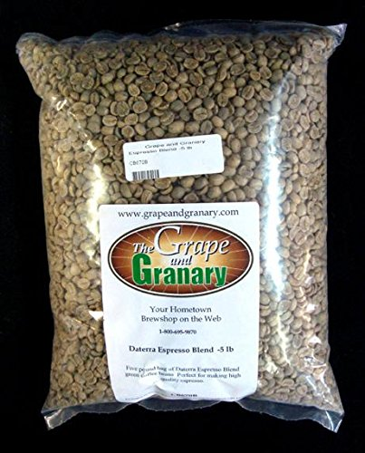 Espresso Daterra unroasted Coffee Beans (5LB)