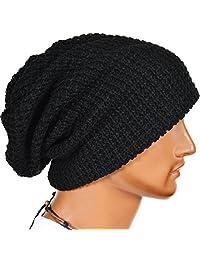 JESSE · RENA Men's Slouch Beanie Skull Cap Lined Oversize Baggy Winter Hat CFB5001